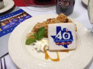 40th Anniversary Luncheon Cookie