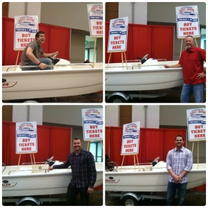 boat at fan fest